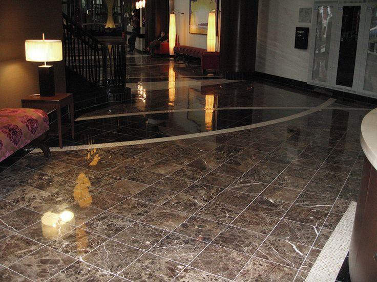granite tile floor lobby