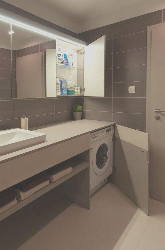 30 Apartment Small Bathroom Ideas With Washing Machine In 2020 Laundry In Bathroom Laundry Room Layouts Laundry Room Bathroom