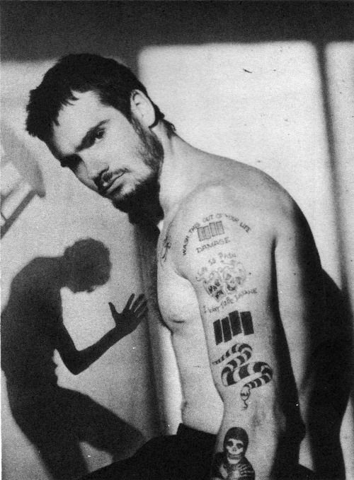 Henry Rollins - So happy to find a pix of him with a beard! Looking amazing I might add! He could be on this board regardless. He's Henry Rollins for goodness sake!
