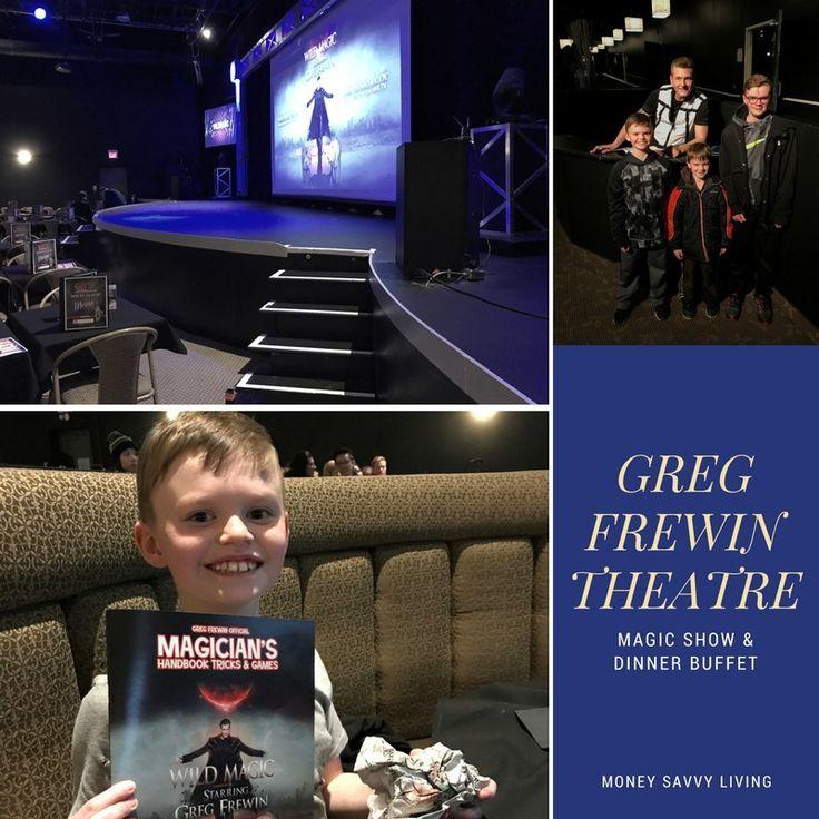 Family Friendly Things to do in Niagara Falls // Greg Frewing Theatre // Money Savvy Living #NiagaraFalls #exploreniagara #magicshow