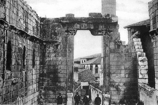 Augustus Tapınağı Eski Ankara Fotoğrafları 1