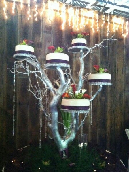 tree branch wedding cake stand tree branch cake stand ideas weddings 21252