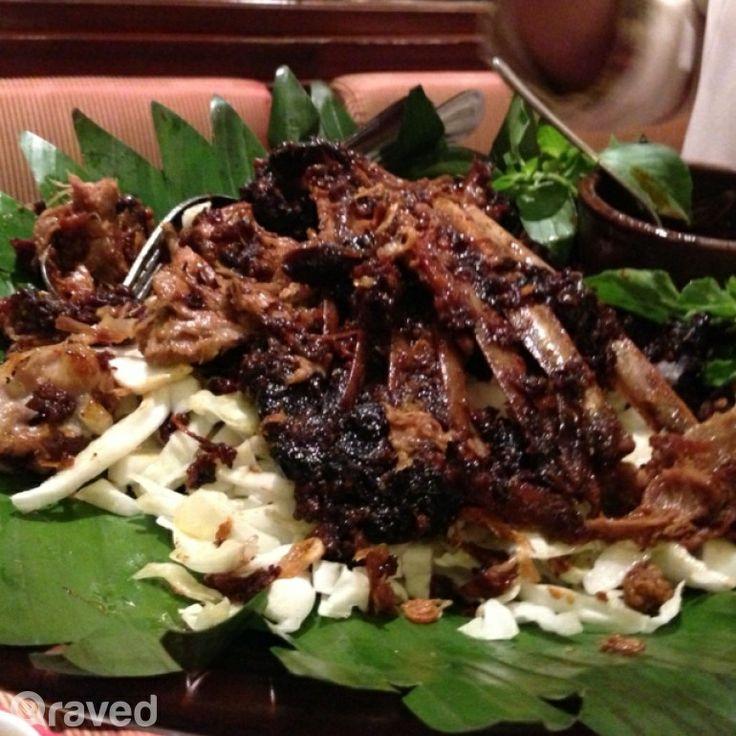 Kambing Guling Mbah Sakera at Harum Manis Restaurant