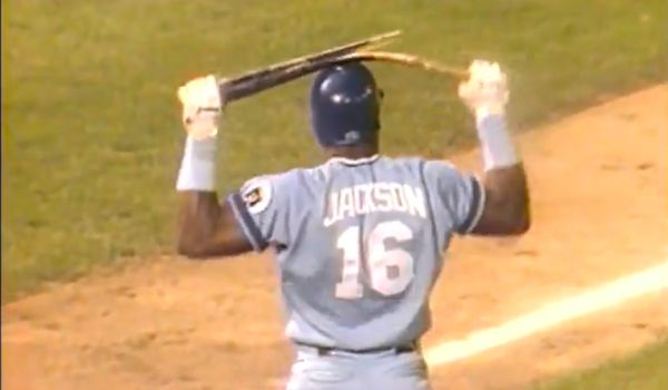 Probably the greatest athlete of all time - Bo Jackson.