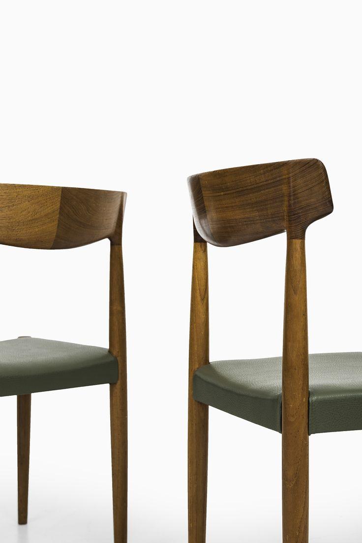 Knud Færch dining chairs by Slagelse møbelfabrik at Studio Schalling