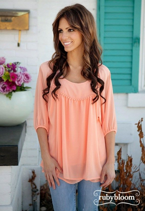 FLOWY LOOSE FIT TOP | Jane