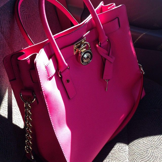 Pink Michael Kors Bag