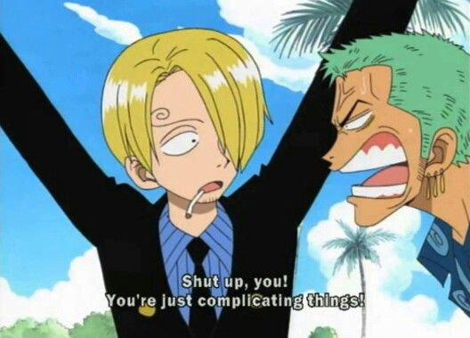 So say you've been watching/reading One Piece for a decade, and among  countless episodes/chapters you start wondering when exactly Zoro and Sanji  started ...
