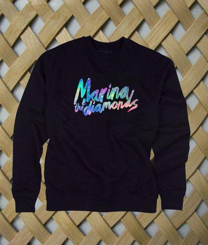 Marina And The Diamonds #sweatshirt #shirt #sweater #womenclothing #menclothing #unisexclothing #clothing #tops