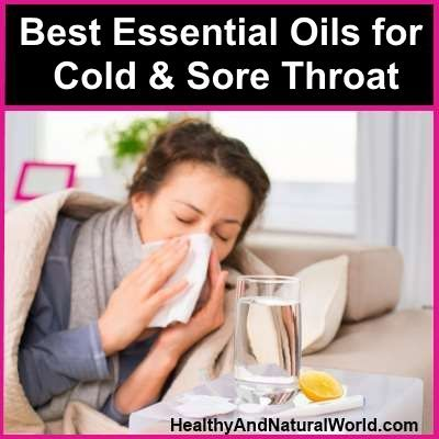 Best Essential Oils for Cold and Sore Throat