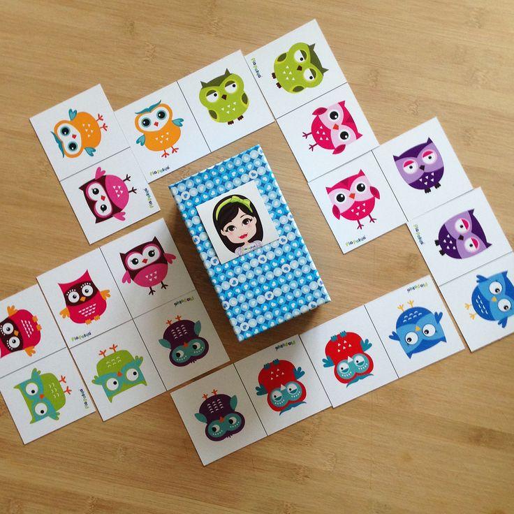 Pia Polya Baykuş Domino 12ay ve 48ay çocuklar için uygundur.