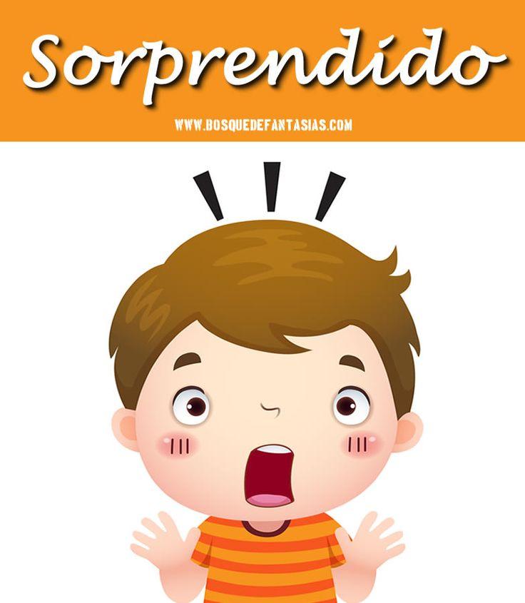 láminas de emociones para niños