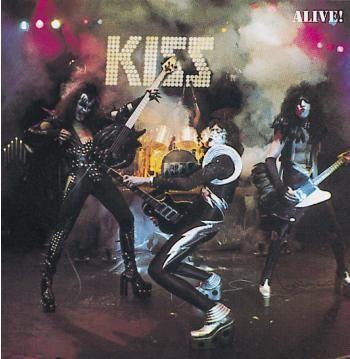 """Ripubblicazione dell'album dei #Kiss intitolato """"Alive!""""."""