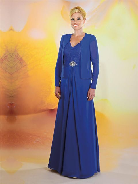 Plus size chiffon sheath lace shirt mother of the bride dresses with cap sleeves with jacket 2015 women formal dress GD_026 US $151.05  Click link to buy other product http://goo.gl/p8JMyk