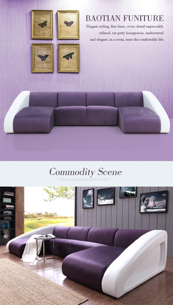 Modern Living Room New Model U Shape Sofa Style Living Room - Modern sofa styles