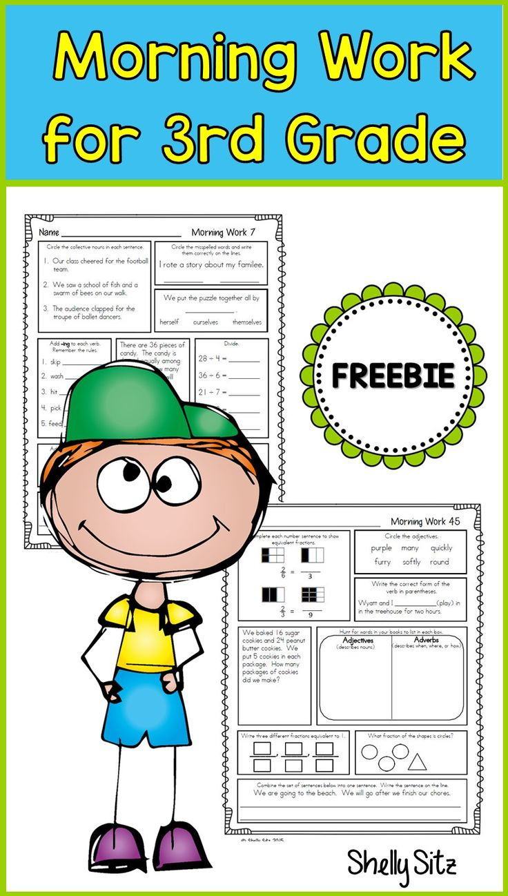 Worksheet Third Grade Homework 17 best ideas about 3rd grade homework on pinterest third or morning work for click preview free sample pages