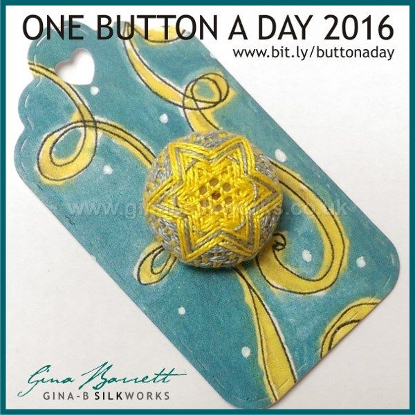 Day 135: Lucky Star #onebuttonaday by Gina Barrett