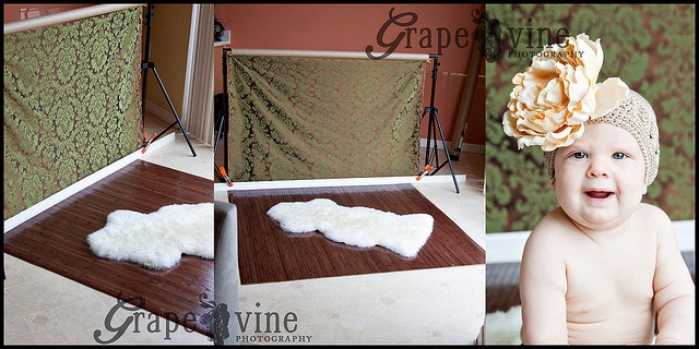 Portable Flooring and Backgrounds for Indoor Photography Set Ups