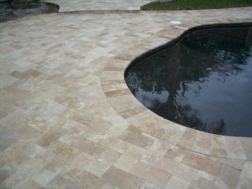 Travertine Pavers Design Ideas, Pictures, Remodel And Decor