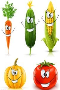 vegetable cartoon...so cool...thanks Olga :)