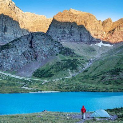 Montana: Many Glacier Campground, Glacier National Park