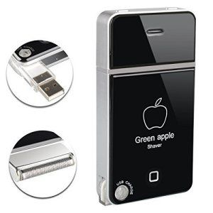 OftenTM Homme Rasoir Tondeuse Slim Portable Electrique USB sans fil Voyage Slimline Pocket Taille
