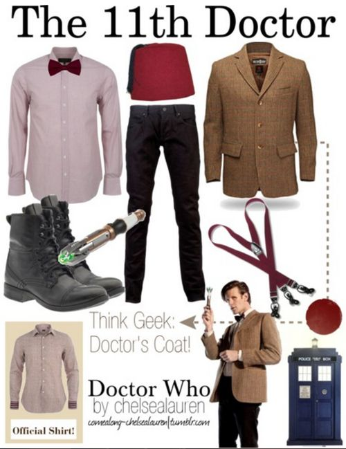 This is the first really good outfit I've seen for the eleventh doctor.