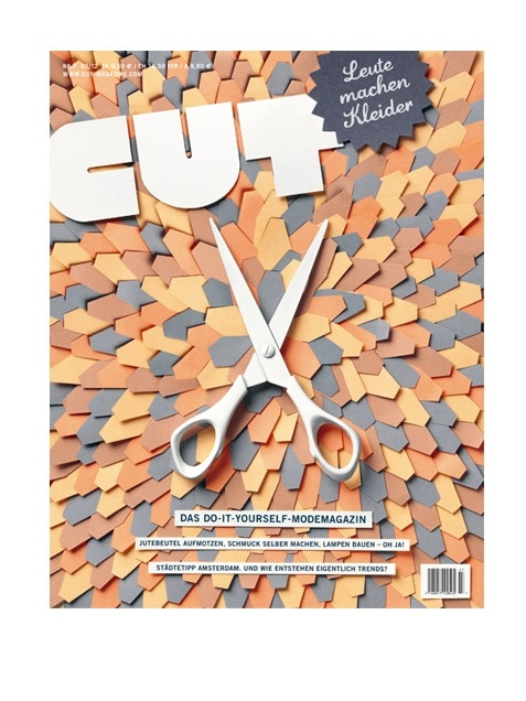 Cut Magazine #7. Simple brown-y colors and crisp but natural shapes.