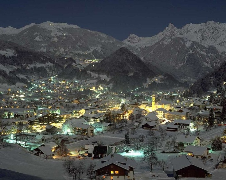 Schruns, Montafon, Austria.  Is this not absolutely magnificent?!