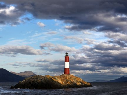 cape horn chile - One lucky family gets to live  for a year in the lighthouse.