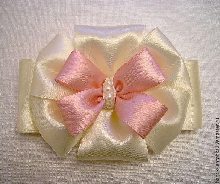 Купить Бантик на выписку из роддома - розовый, на выписку, на выписку из роддома, для новорожденного, для новорожденной, для новорожденных