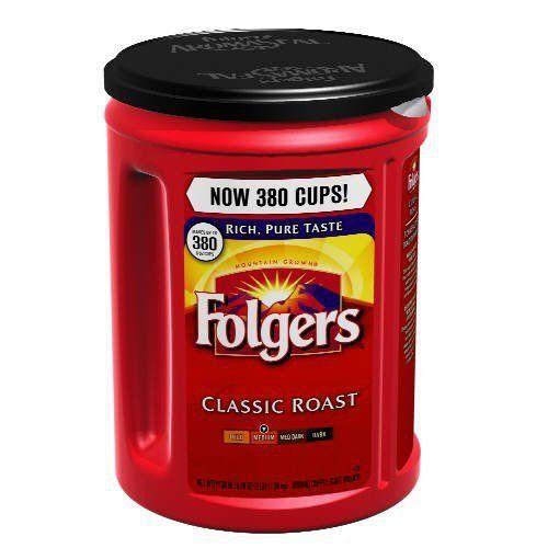 Folgers Coffee, Classic(Medium) Roast, 48 Ounce - http://teacoffeestore.com/folgers-coffee-classicmedium-roast-48-ounce/