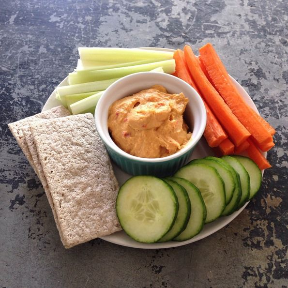 Sample High-Protein Vegan Menu —   High Protein Hummus and veggies for prego snack  To boost the protein of this snack even more, stir 1-2 tablespoons of hulled hemp seeds into the hummus. This boosts protein another 3.5-7 grams, respectively