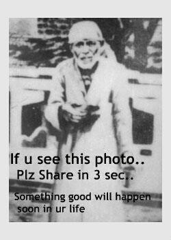 "Sai baba...and interesting man (even though I hate these ""Plz share"" dealies)"