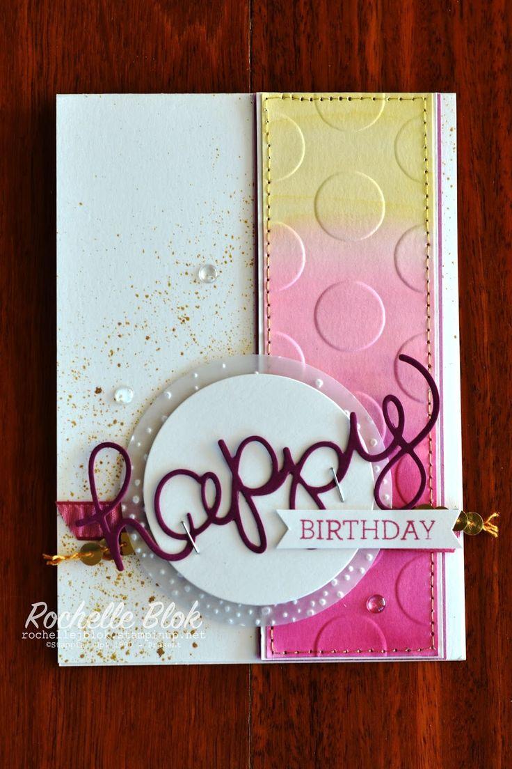 710 Best Stampin Up Birthday Images On Pinterest Birthdays