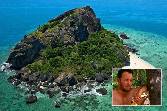Monuriki Island, Fiji ~ Where Tom Hanks filmed the movie Castaway