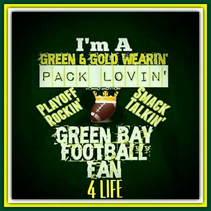 Green Bay Packer Fan!