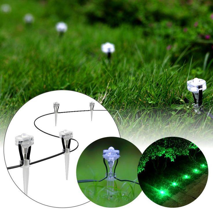 luxjet smart bluetooth led landscape lighting set garden spotlight mini rgb outdoor waterproof strip