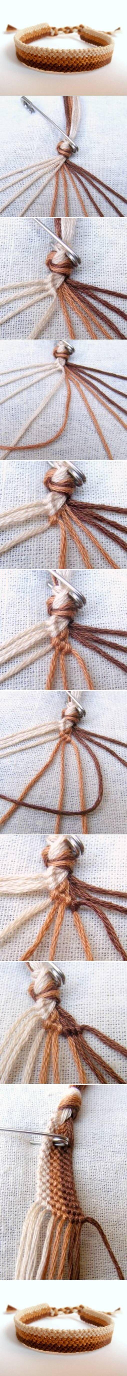 DIY Easy Weave Bracelet DIY Projects