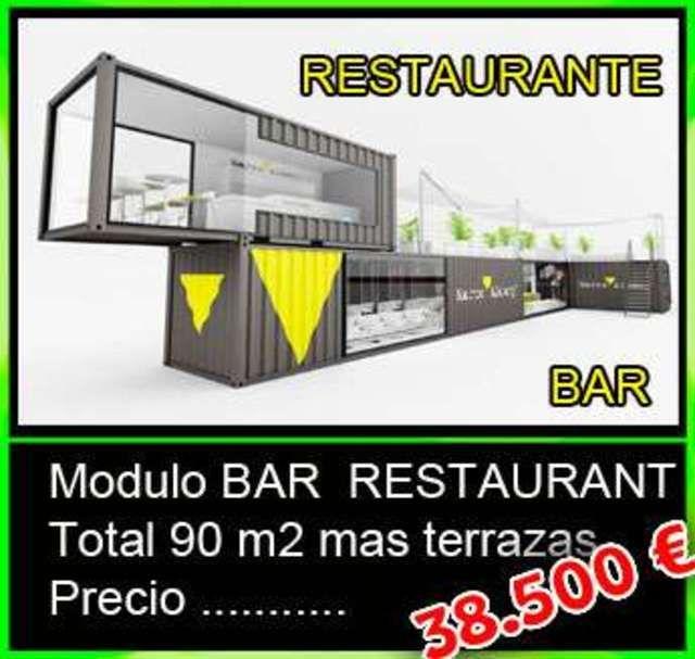 Mil Anuncios Com Contenedor Bar Restaurante 90m2 Terrazas