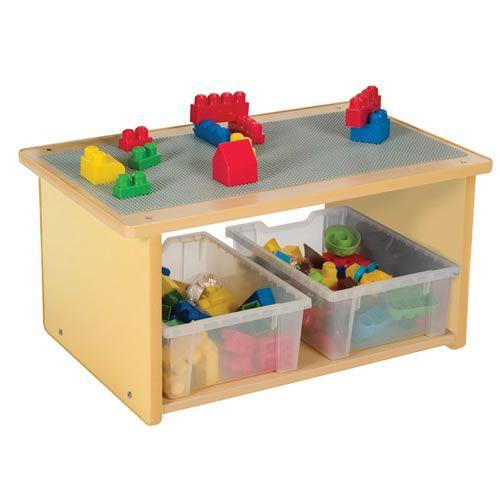 Toddler Play Table - Natural