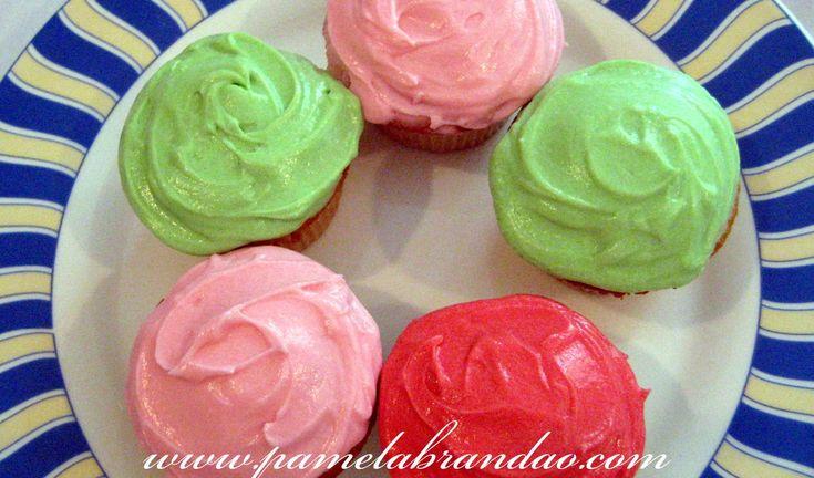 cupcake de baunilha