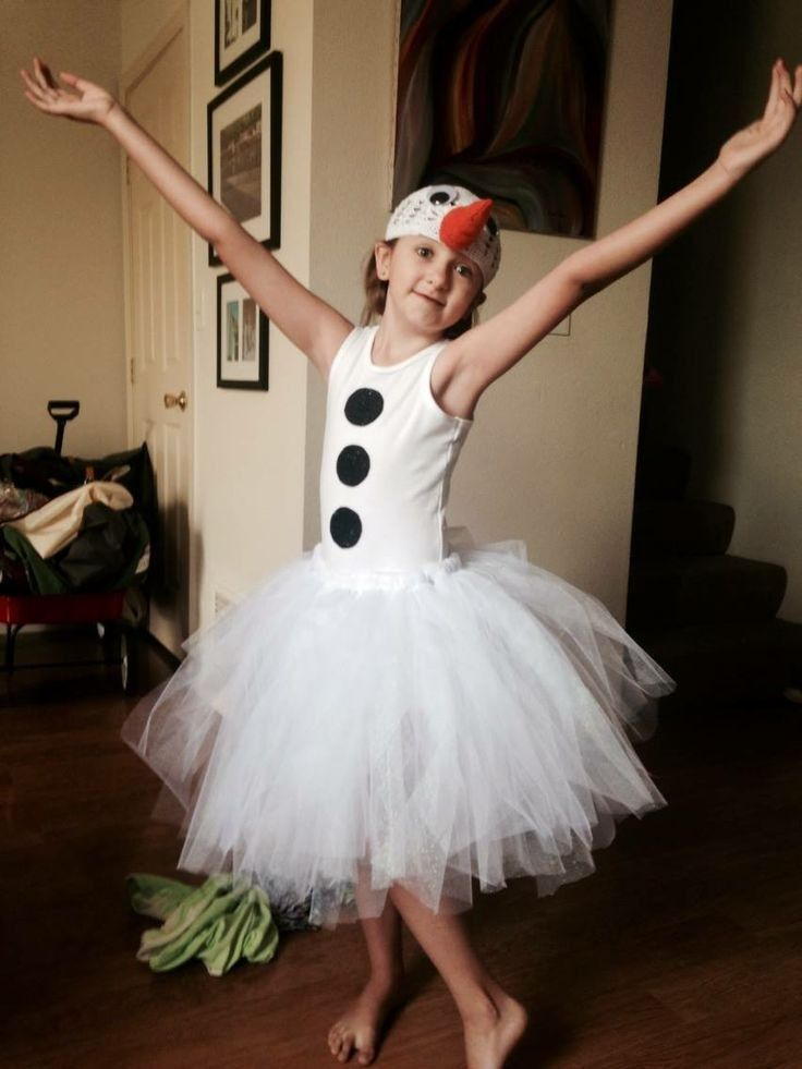 Frozen Olaf Halloween costumes for little girls that are pretty