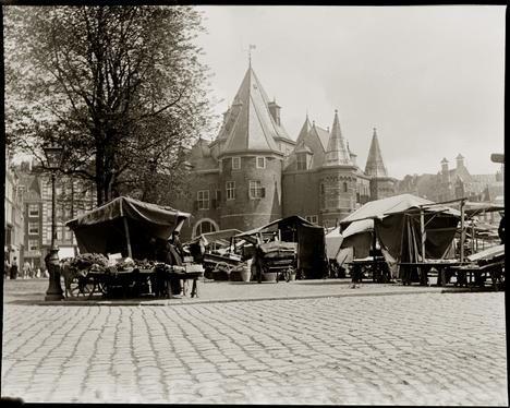 Jacob Olie - Nieuwmarkt Amsterdam september 1902