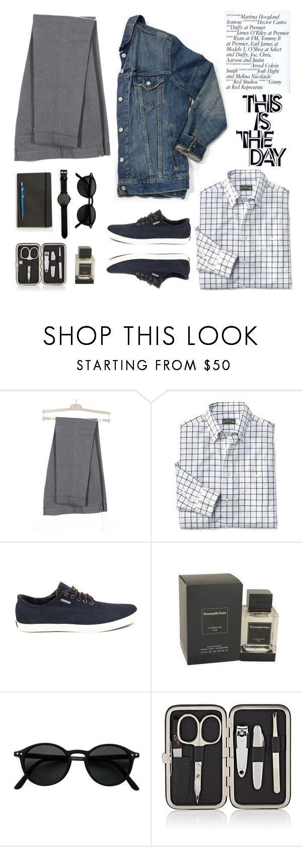 """This is the day"" by lux-life ❤ liked on Polyvore featuring Grown Alchemist, Izipizi, Barneys New York, Comme des Garçons, men's fashion and menswear"