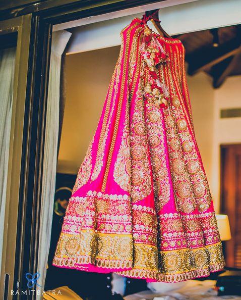 Bridal pink lengha