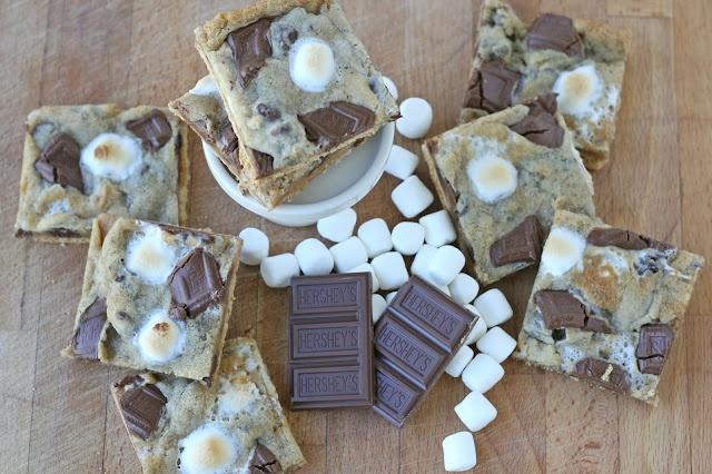 Graham Cracker S'mores Cookies!