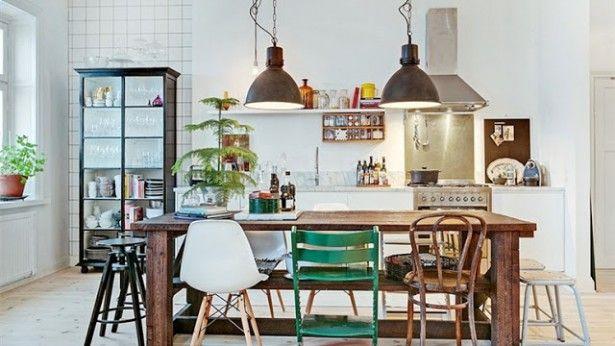 Feng Shui Slaapkamer Boven Keuken : Meer dan 1000 idee?n over Stoelen Voor De Eettafel op Pinterest