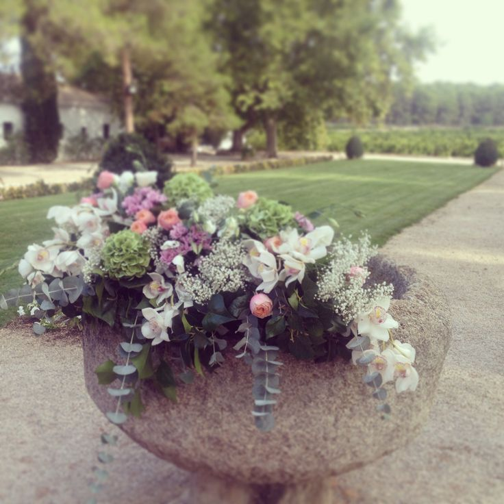 Decoración floral boda Vallesa de mandor