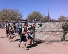 ROTC cadets place high in Bataan Memorial Death March